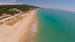 Vrahos Preveza: Endless golden beach