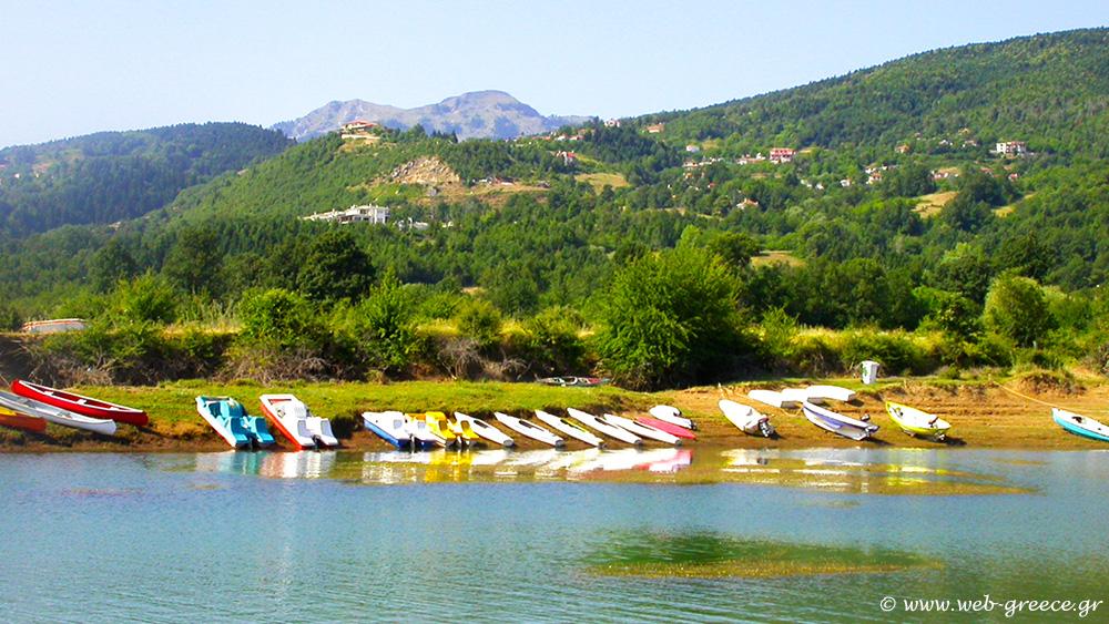Το Αγκίστρι λίμνη ευχάριστο