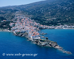 Andros: Venetian castles, old monasteries and picturesque watermills