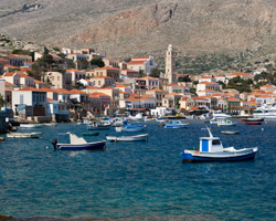 Chalki: With the golden-sand beaches and the living traditions