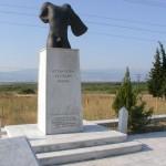Άγαλμα στη μνήμη των 700 Θεσπιών, Θερμοπύλες