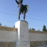 Το άγαλμα του Λεωνίδα, Θερμοπύλες