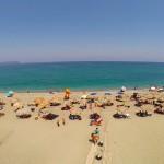 Παραλία Στόμιο, Κύμη