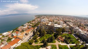 Aigio: The balcony of the Corinthian Gulf