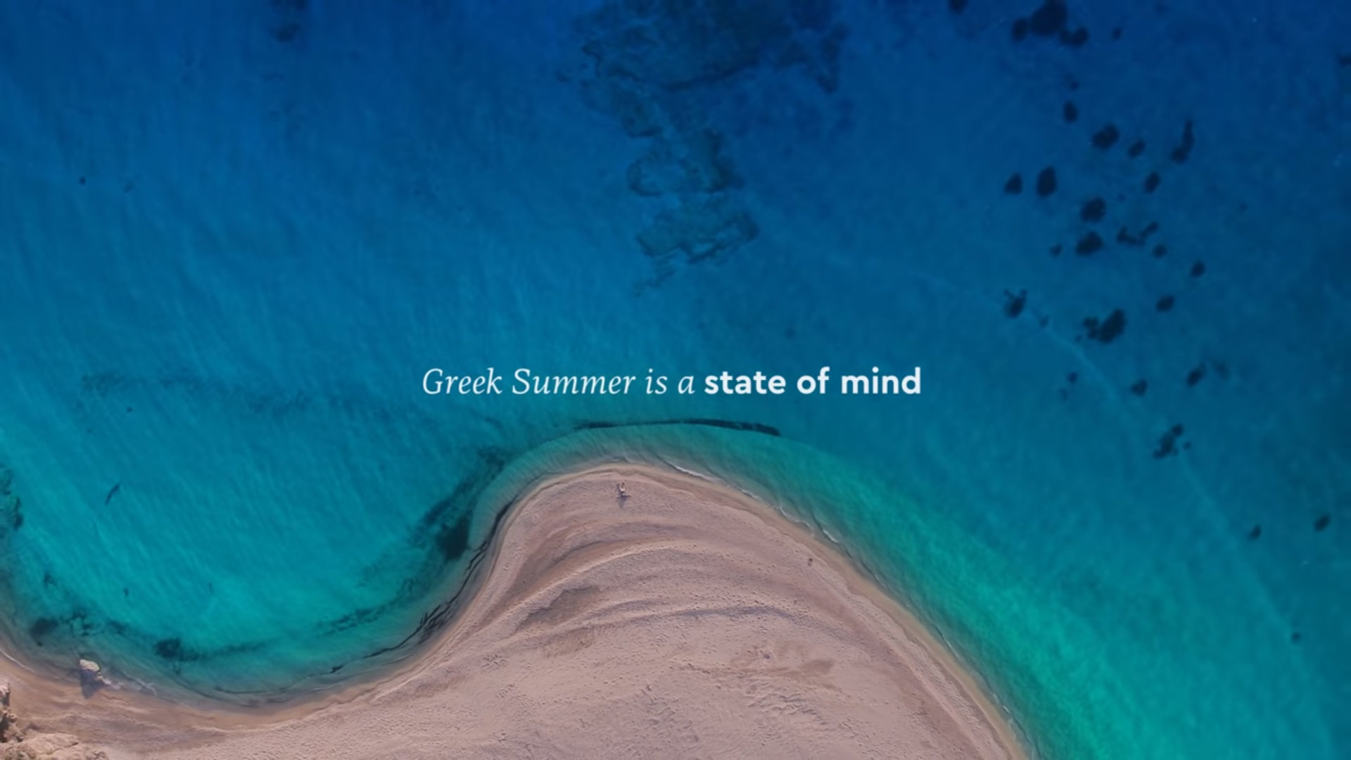 """The Greek Summer is a State of Mind"" – Το σποτ της νέας καμπάνιας για τον τουρισμό!"