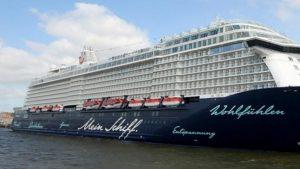 Το πρώτο ταξίδι κρουαζιέρας κάνει η TUI Cruises στην Ελλάδα!